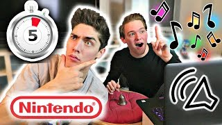 Can You Guess THESE Nintendo Songs by Only Hearing 5 Seconds?? [PT .1] ft. JacobsOcarina