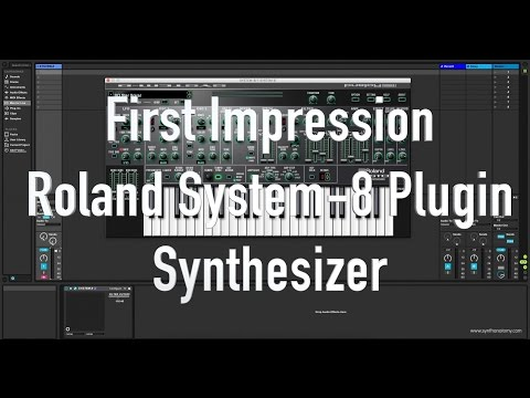 First Impression: Roland System-8 Plugin Synthesizer