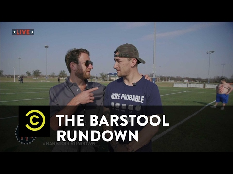 The Barstool Rundown: Live from Houston - Johnny Football