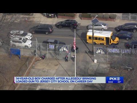 14-year-old NJ boy arrested for bringing loaded gun to school