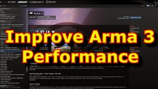 How To Improve FPS Performance In Arma 3