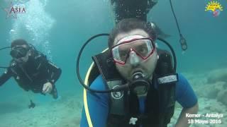 Asfa Diving Team 2016 - Kemer Dalışı