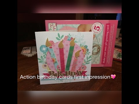 Action birthday cards first inpression ilse youtube action birthday cards first inpression ilse bookmarktalkfo Choice Image