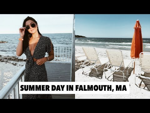 VLOG: beach, our favorite restaurant in falmouth & sunset pics!