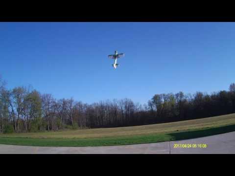 4-24-2017 Mini Edge 540T morning flight.. Chipped prop again. ARGH!