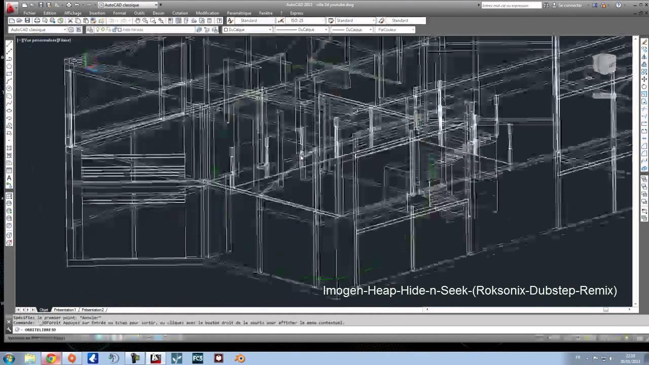Construction Maison Autocad 3D / Lumion Rendu Super Réaliste