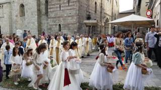 Celebració de Corpus a La Seu d'Urgell