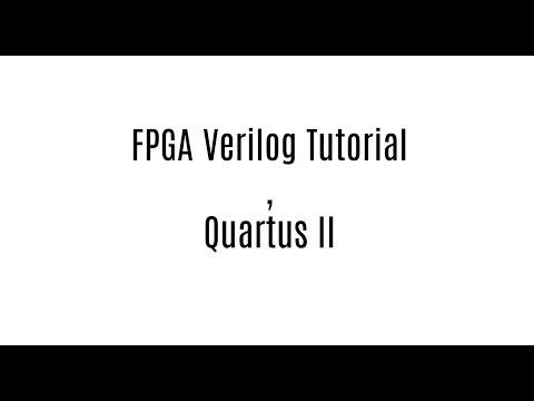 7 Segment Hex decoder- FPGA Verilog Tutotial