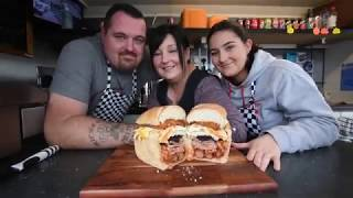 Burger van sells a full Welsh breakfast INSIDE a loaf of bread