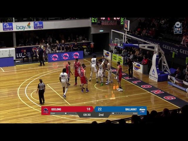 NBL1 Men's Highlights | Geelong vs. Ballarat