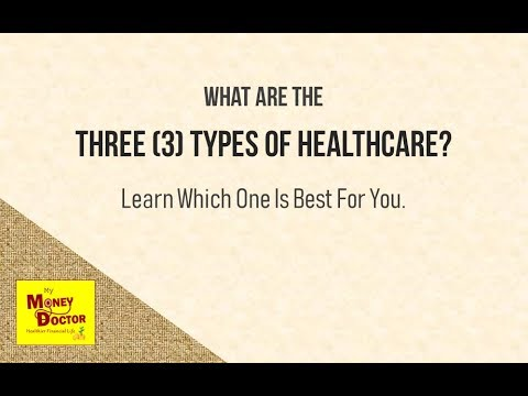 The THREE Types of HEALTHCARE | Investment | Savings | Protection