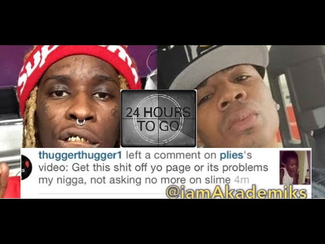 Young Thug Threatens Plies Over Him Posting a Video on Instagram of His Daughter!