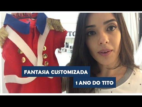 Primeiro Aninho do Tito - Customização da Fantasia Soldadinho de Chumbo b27783cb413
