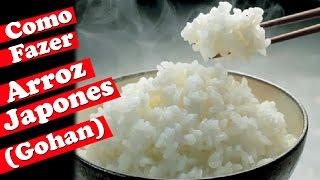 Como Fazer Arroz Japones (Gohan) | Comida Japonesa | #MINICOZINHA