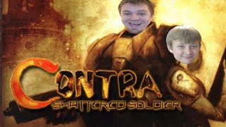 Contra: Shattered Soldier PS2 Video Game w/ Ethan - This is Getting RIDICULOUS!