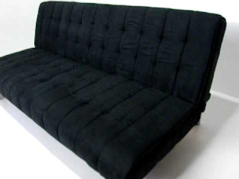 Delta 8 colchones y muebles futton sofa cama de 2 plazas youtube for Sofa extensible 2 plazas