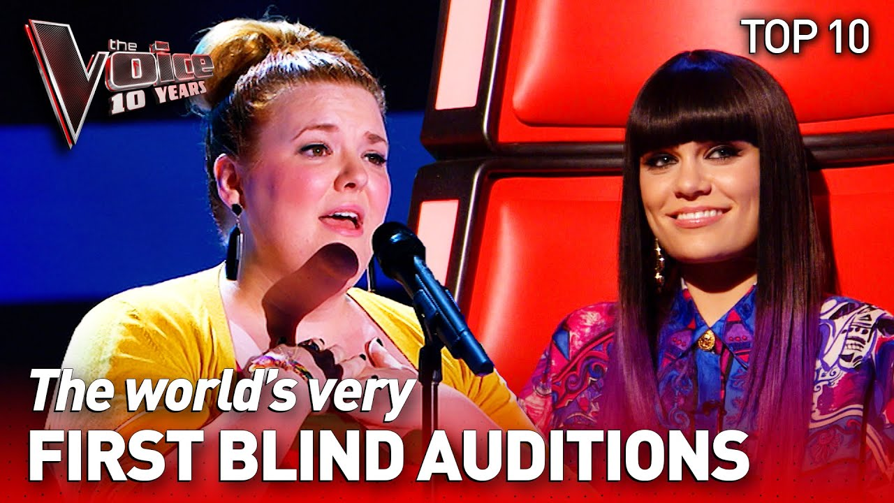 The very FIRST Blind Auditions from around the World in The Voice | The Voice 10 Years