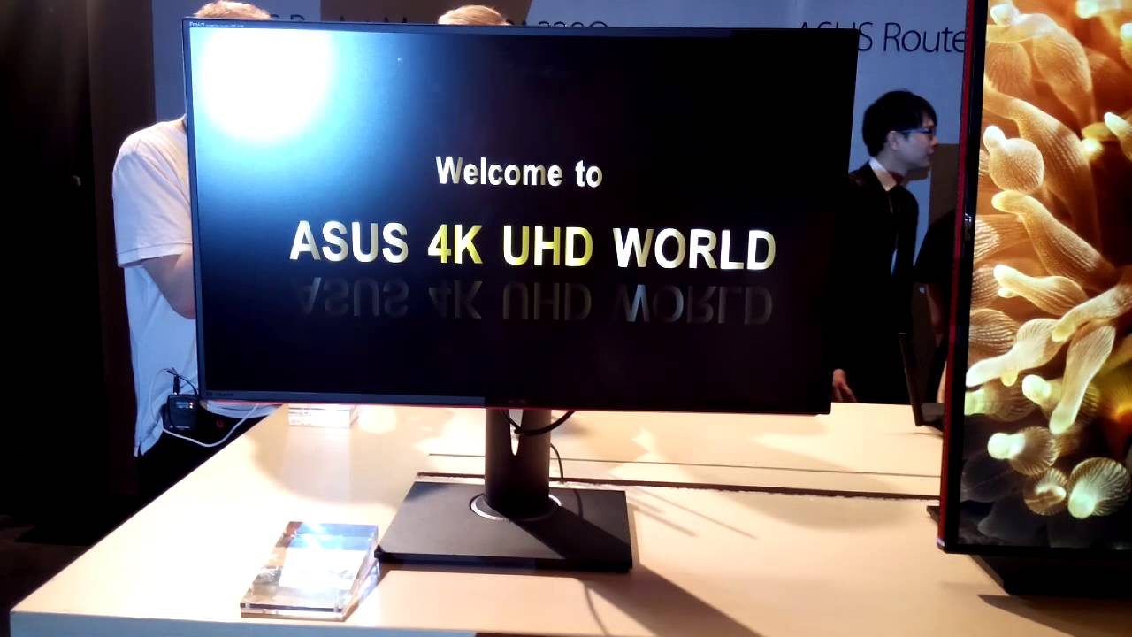 ASUS ProArt PA328Q Professional Monitor at Computex 2014