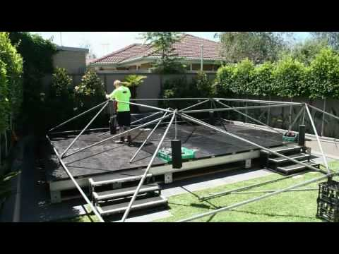 Pool Cover Build Timelapse Youtube