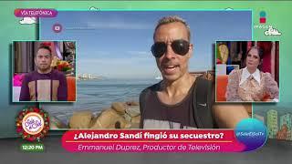 ¿Secuestro de Alejandro Sandí …