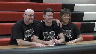 Jason Whitens signs NLI with Western Michigan