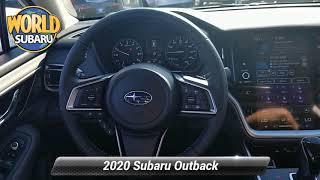 New 2020 Subaru Outback Onyx Edition XT, Tinton Falls, NJ 18995