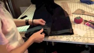 sewing lessons how to hem jeans and keep original hem