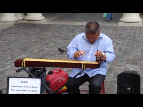 Chinese Street Performer at Covent Garden