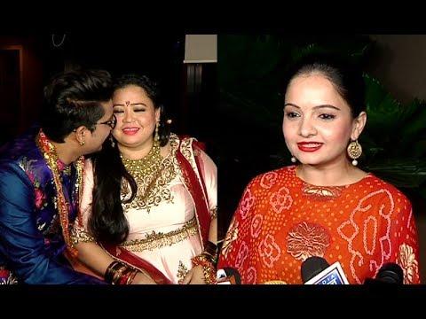 Giaa Manek Attends Bharti Singh