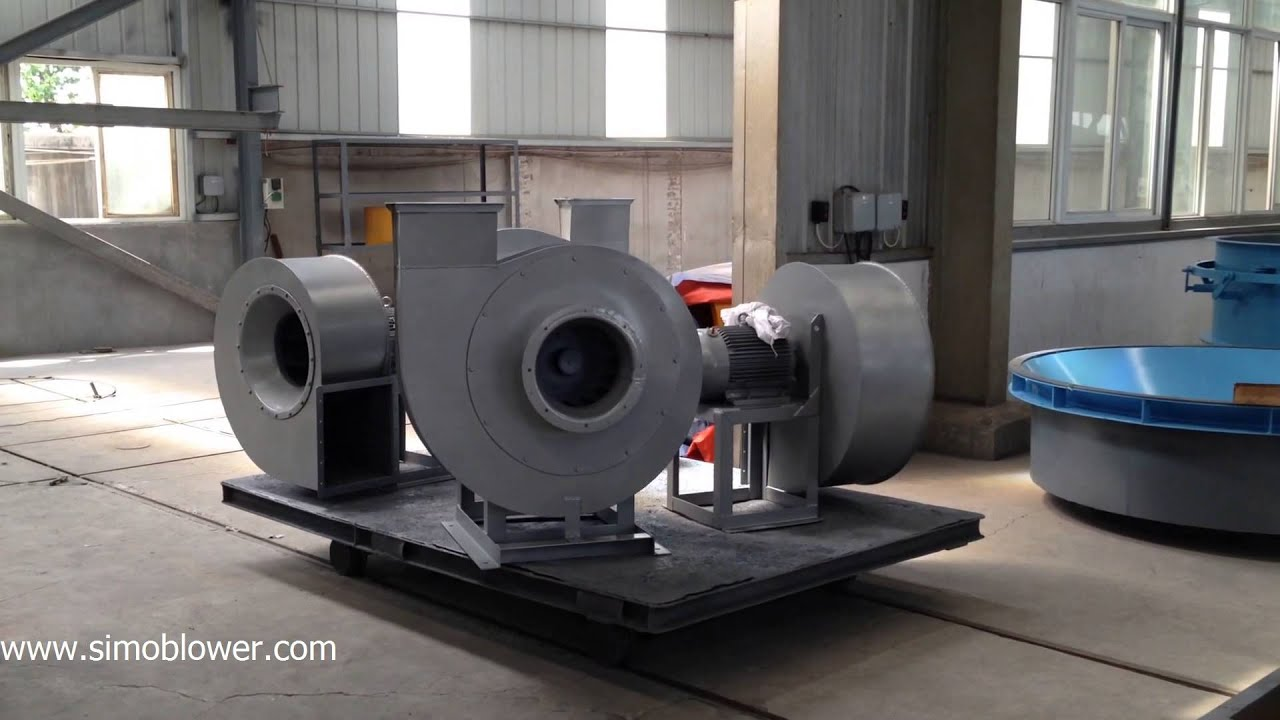 Silencer Of The Industrial Fans Simo Blower Youtube