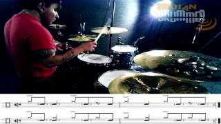 "DRUM LESSON FOR INDIAN DRUMMER ""SONGO"" by Chocs"