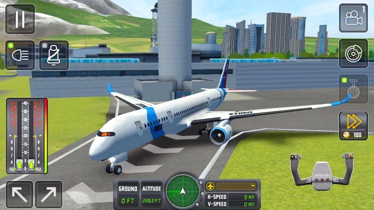 Flight Sim 2018 (Ovilex Software) #20 - Flight Game Android/iOS Gameplay HD