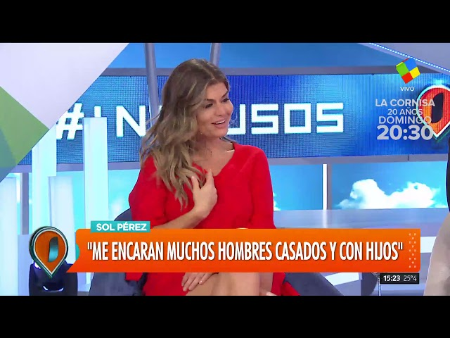 "5986db8e3c Sol Pérez: ""Si en algún momento me gusta una mujer, le re doy para  adelante"" | Vía País"