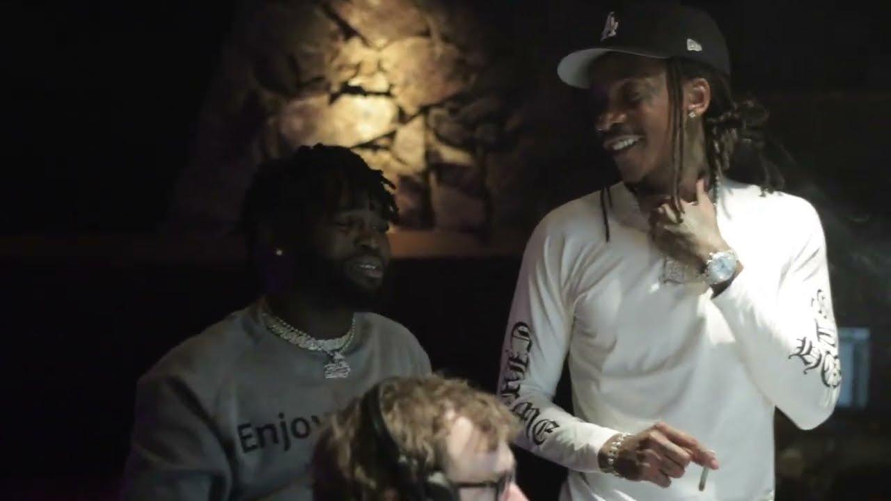 Download Wiz Khalifa - DayToday - Working w/ Narissa (she raps but she can sang)