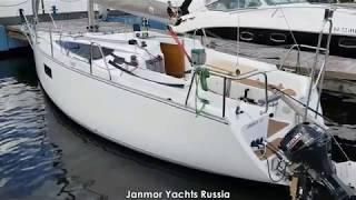 Видео-обзор парусной яхты JANMOR 25 Russian Edition