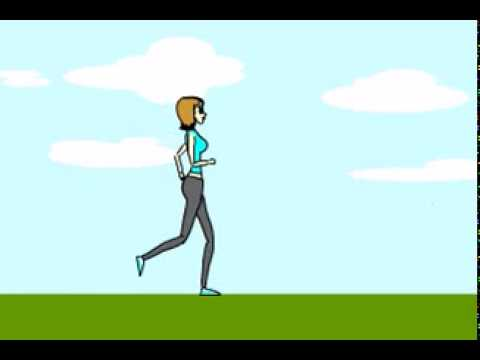 Flash animation - walking sequence project