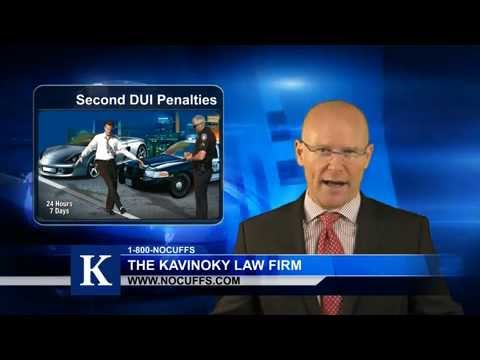 Second DUI California: What Are The Penalties For My Second Offense?