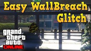 GTA Online: Police Station Wall breach in Free Roam. Easy Wall Breach Glitch.