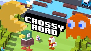 Crossy Road Pac-Man 256 Theme Unlock Secret Character Clyde