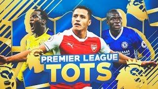 Los tots de la premier league!!!!! | alexis, lukaku, kantÉ & mÁs | fifa 17 team of the season