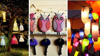 WOW !! Wall Hanging Crafts Ideas || DIY Bottles Out doar & Garden Hanging Ideas || Room Decoration