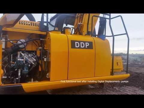 Digital Displacement Hydraulic Excavator