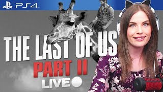 Live streamer plays The Last of Us 2