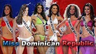 Miss Dominican Republic from 2003 - 2015 Miss Universe