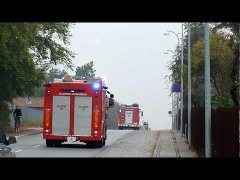 5 x fire vehicles in copenhagen