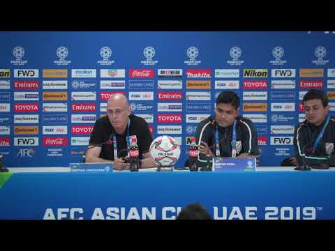 MD2: India's Stephen Constantine pre-match press conference