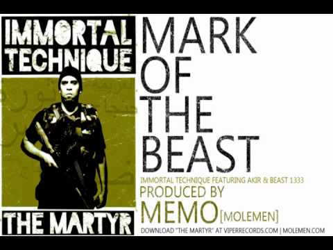 free download IMMORTAL TECHNIQUE  MARK OF THE BEAST  PRODUCED  MEMO  MOLEMEN