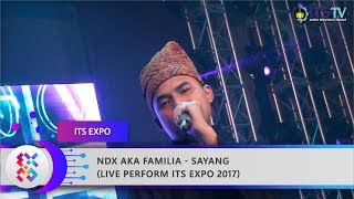 Video NDX AKA FAMILIA - Sayang (Live Perform ITS Expo 2017) download MP3, 3GP, MP4, WEBM, AVI, FLV Maret 2018