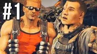 BULLETSTORM FULL CLIP EDITION DUKE NUKEM Gameplay Walkthrough Part 1 - OUT OF GUM (no commentary)