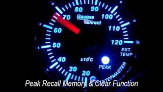 Exhaust gas temp. gauge, stepmaster, stepper motor gauge - gauges direct